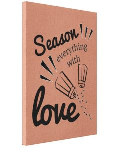 Tablou Canvas -Season love with everything